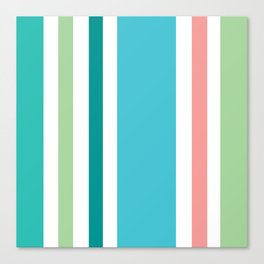 Newport Stripe Canvas Print