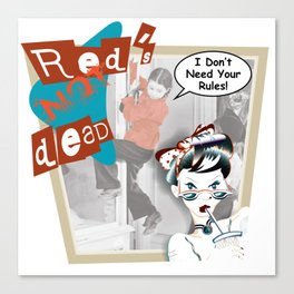 Red's Not Ded Canvas Print