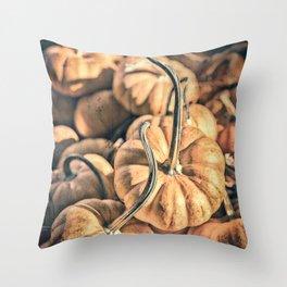 Autumn Grunge Throw Pillow