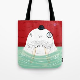 Sir Wilfred Wallace, The Wonderful Walrus Tote Bag