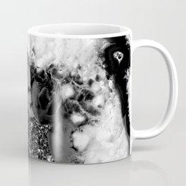 Gray Black White Agate Glitter Glamor #1 #gem #decor #art #society6 Coffee Mug