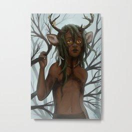 The Deer Metal Print