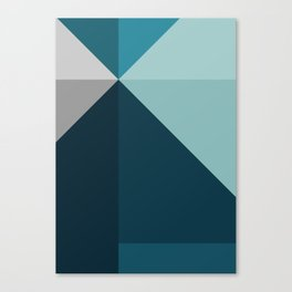 Geometric 1702 Canvas Print
