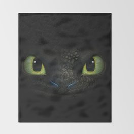 Toothless Throw Blanket