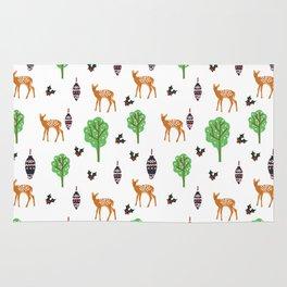 Xmas Deer Pattern Rug