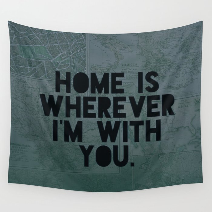 With You II Wall Tapestry