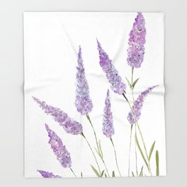 Lavander Throw Blanket