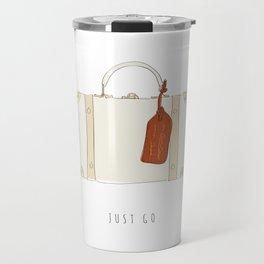Just Go - Adventure Suitcase Travel Mug