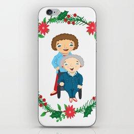Custom Family Portraits iPhone Skin