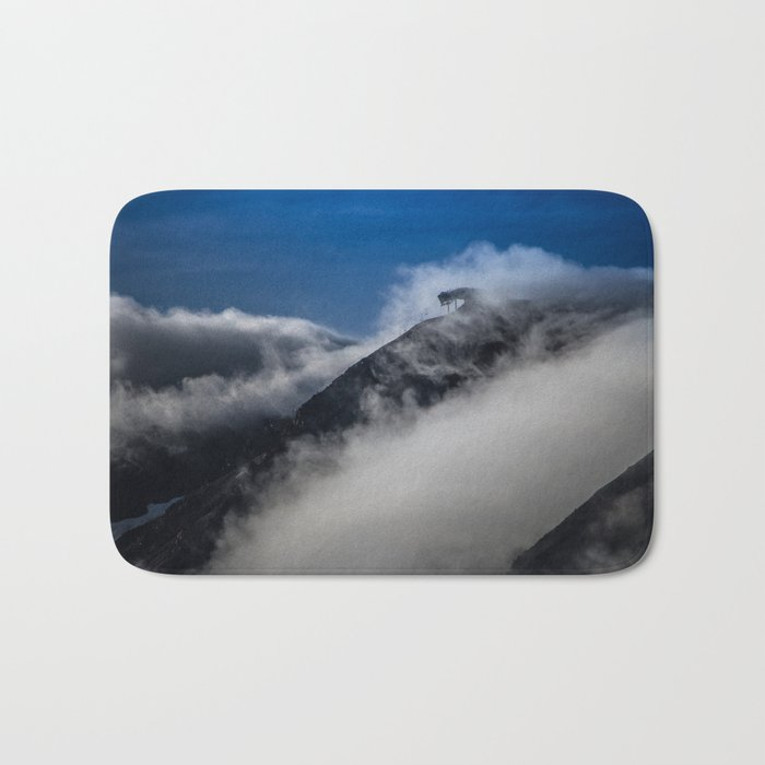 Mountain Clouds Bath Mat