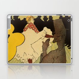 Paris nightlife 1891 Toulouse Lautrec Laptop & iPad Skin