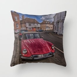 Citroens In Charing Throw Pillow