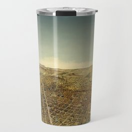 San Francisco Waterfront Travel Mug