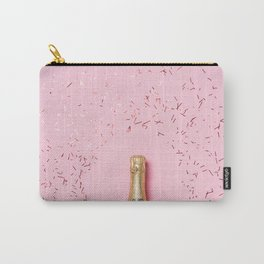 Pink Champagne Party Carry-All Pouch