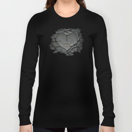 Cracked Soul (Grey Heart) Long Sleeve T-shirt