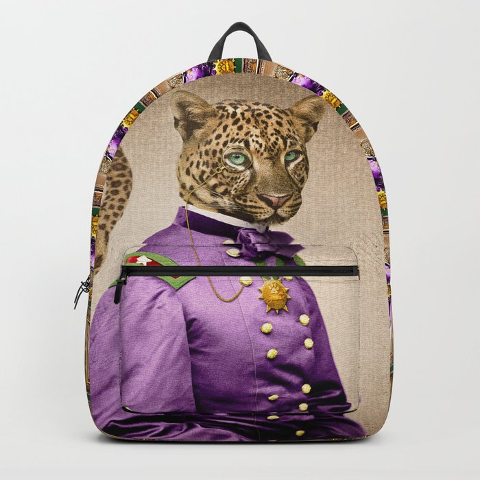 Grand Viceroy Leopold Leopard Backpack