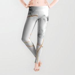 Marble Geometry 054 Leggings