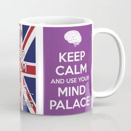 Keep Calm and Sherlock On Coffee Mug