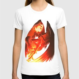 Lumania Bound Conflagration, The Amber Angel T-shirt