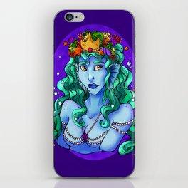 Queen of the Sea iPhone Skin