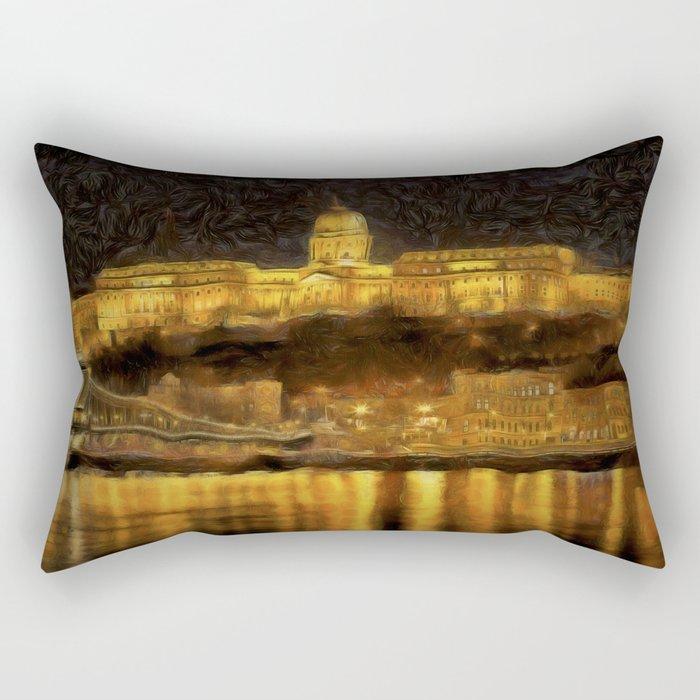 Budapest Vincent Van Gogh Rectangular Pillow