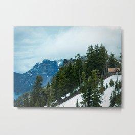 Crater lake-OR Metal Print