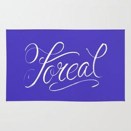 Foreal (Hip Hop Calligraphy I) Rug