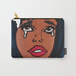 Popping Art Determination Carry-All Pouch