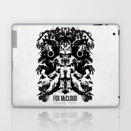 Fox McCloud Star Fox Inspired Geek Psychological Inkblot Laptop & iPad Skin