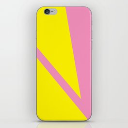 Pink Angles iPhone Skin
