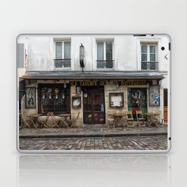 Cafe in Monmartre Paris Laptop & iPad Skin