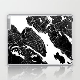 Halifax - Minimalist City Map Laptop & iPad Skin