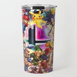 Smash Brothers Travel Mug