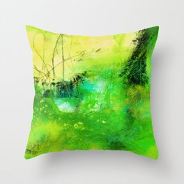 Dreams F by Kathy Morton Stanion Throw Pillow