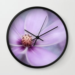 PURPLE PANO Wall Clock