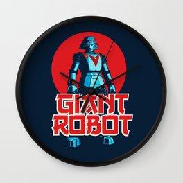 Giant Robot Wall Clock