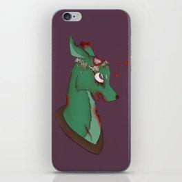 Zombie Deer Taxidermy iPhone Skin