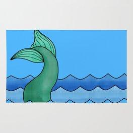 Mermaid Tail Rug