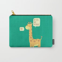 Giraffe problems! Carry-All Pouch