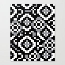 """Modular Analysis """"Rings, Rings, Rings"""" Canvas Print"""