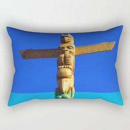 Totem Pole #3 Rectangular Pillow
