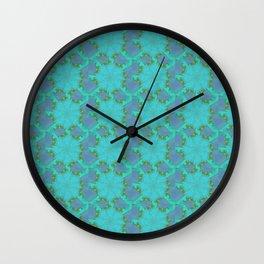 Frostwork Wall Clock