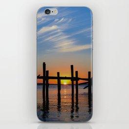Sunset at Fernadina Beach iPhone Skin