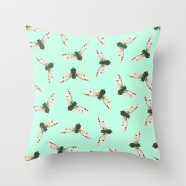 Cicada Jewels Throw Pillow
