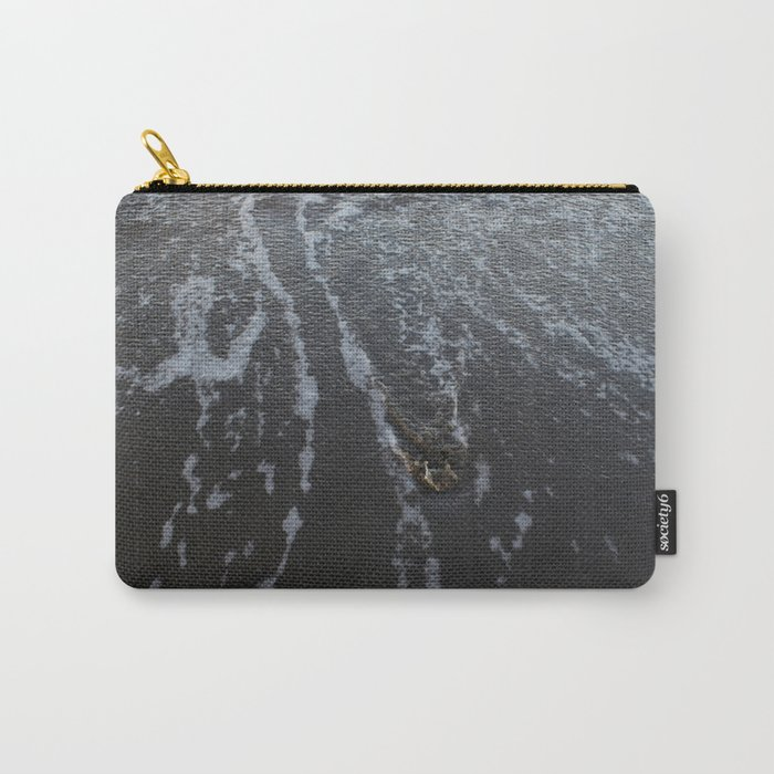 Something on the sandy shore Carry-All Pouch