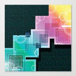 Abstract Tech Canvas Print