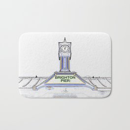 Brighton Pier Bath Mat