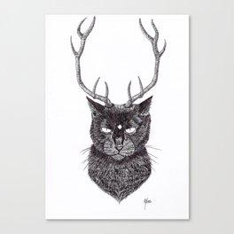 Meow...? Canvas Print