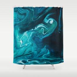 Gravity II Shower Curtain