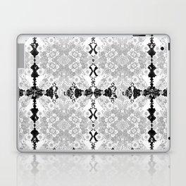 Delicate Castle Curtain Lace Laptop & iPad Skin